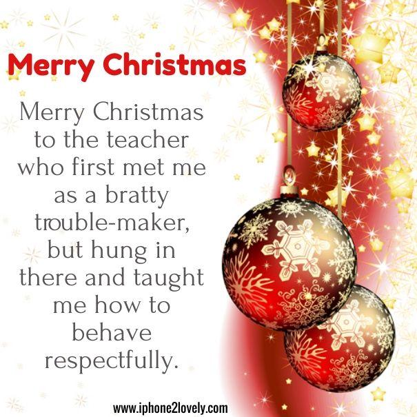 Christmas Poems Teacher