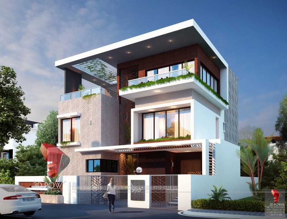 Stunning Modern Architectural House Bungalow House Design Duplex House Design Latest House Designs