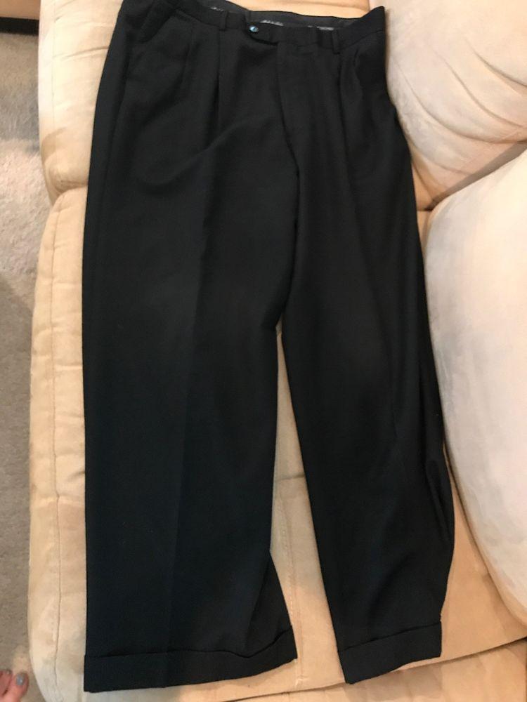 Mens Black Dress Pants Size 3532 Fashion Clothing Shoes