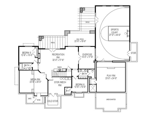 Building a Home Plan with an Indoor Basketball Court Indoor - fresh construction blueprint reading certification