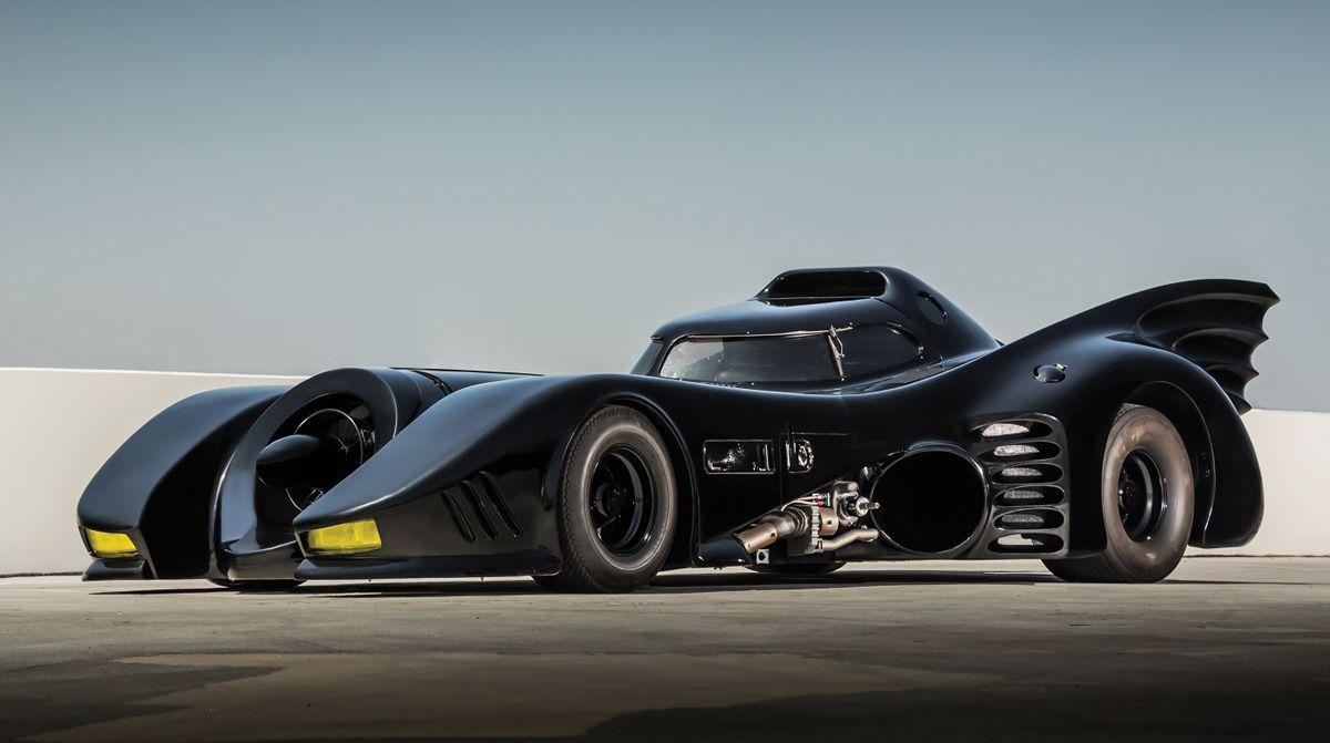 Hollywood Dream Machines Exhibition 1989 Batmobile