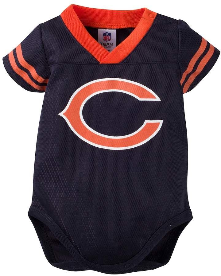 watch 165f5 96faf Baby Chicago Bears Dazzle Bodysuit | Products | Chicago ...