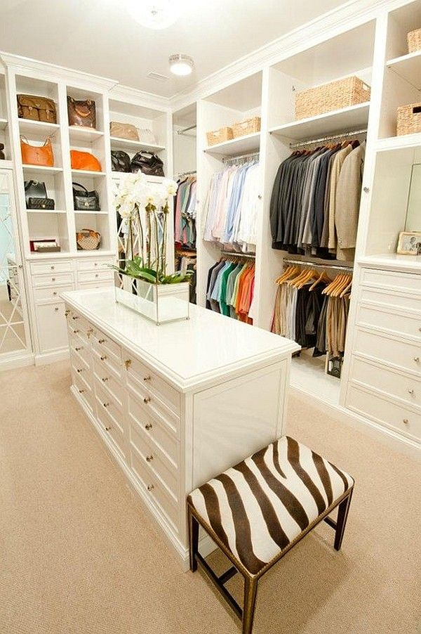 Closet With Island DIY Closets That Stun Aesthetics