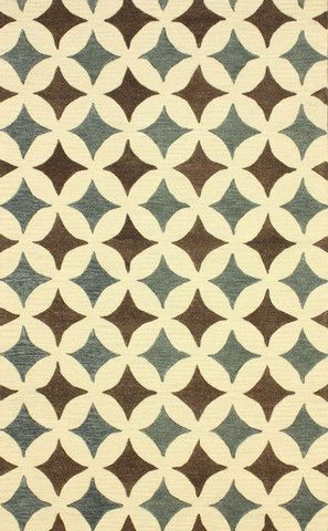 Blue nuLOOM Rugs, home decor, geo, print, design, decor, style, modern, home, house, contemporary, interior design.