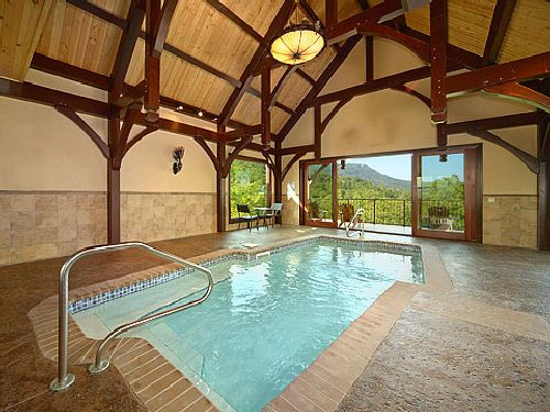 Pool With A View This Beautiful Four Bedroom Cabin Located In The Summit Is  Ideal For A Multi Family Getaway To The Smokies. Offering Such Amenities As  An ...