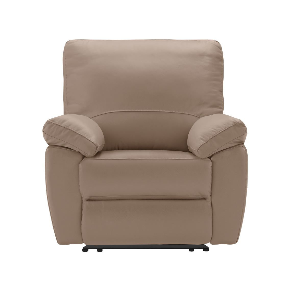 Lucas Recliner Size W 102cm X D 100cm X H 101cm In Pebble
