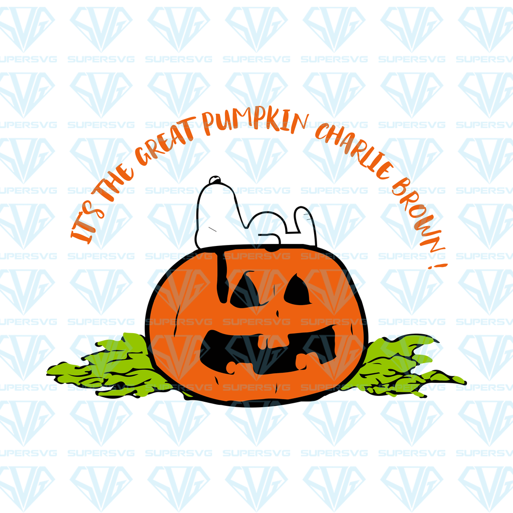 Its The Great Pumpkin Charlie Brown Svg Files For Silhouette Files For Cricut Svg Dxf Eps Png Instant Download 1 Supersvg Great Pumpkin Charlie Brown Charlie Brown Halloween Quotes Charlie Brown Halloween