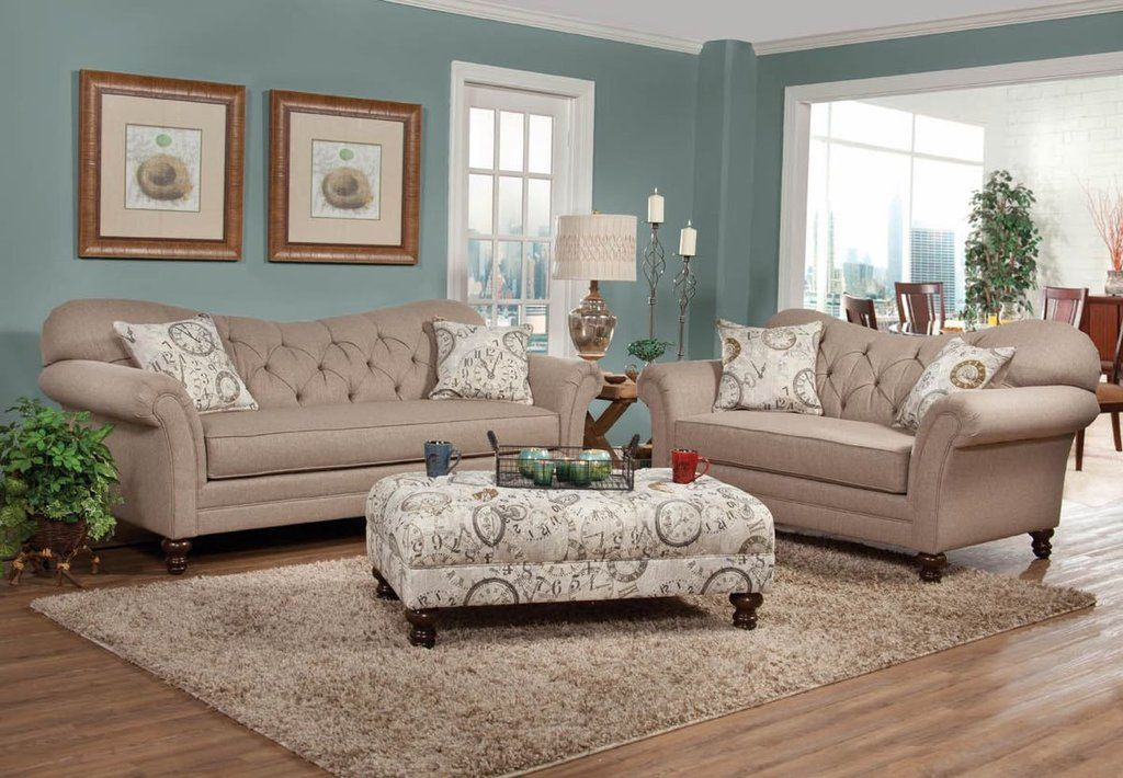 Serta Upholstery Abington Safari Sofa and Loveseat | Upholstery ...
