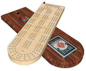 how to make a cribbage board quickly and easily from a homemade