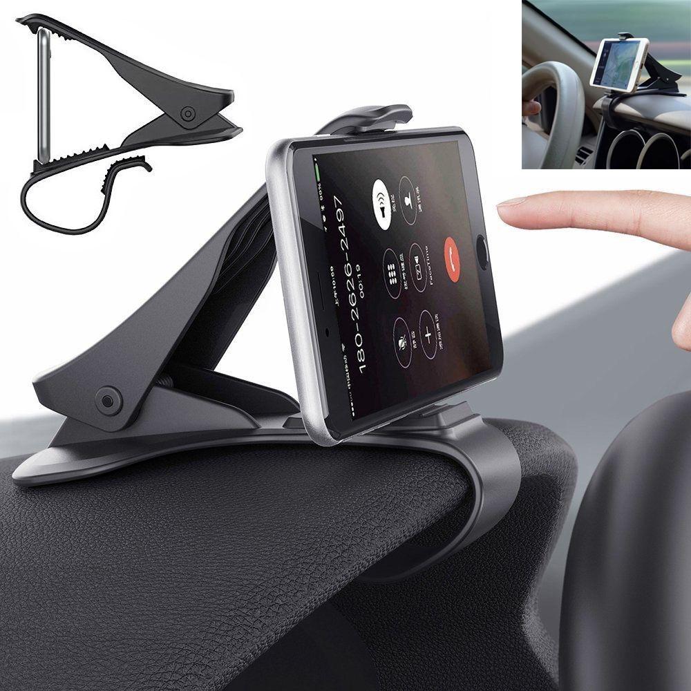 Antiskid Car Phone Holder Clip HUD Design Dashboard