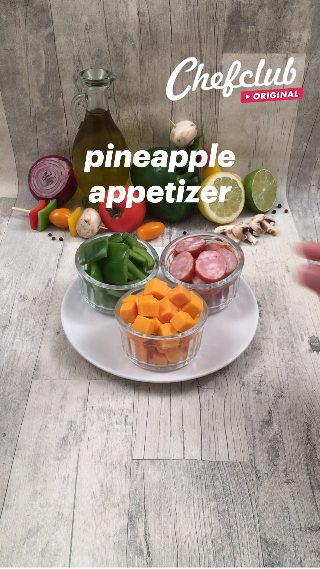 Grilled Pineapple Appetizer