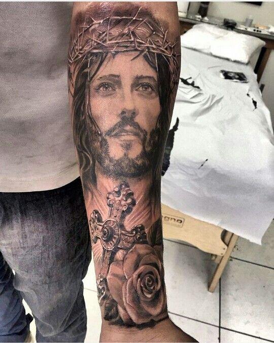 Pin By Lucas Voorhees On Ink Idea Pinterest Jesus Tattoo