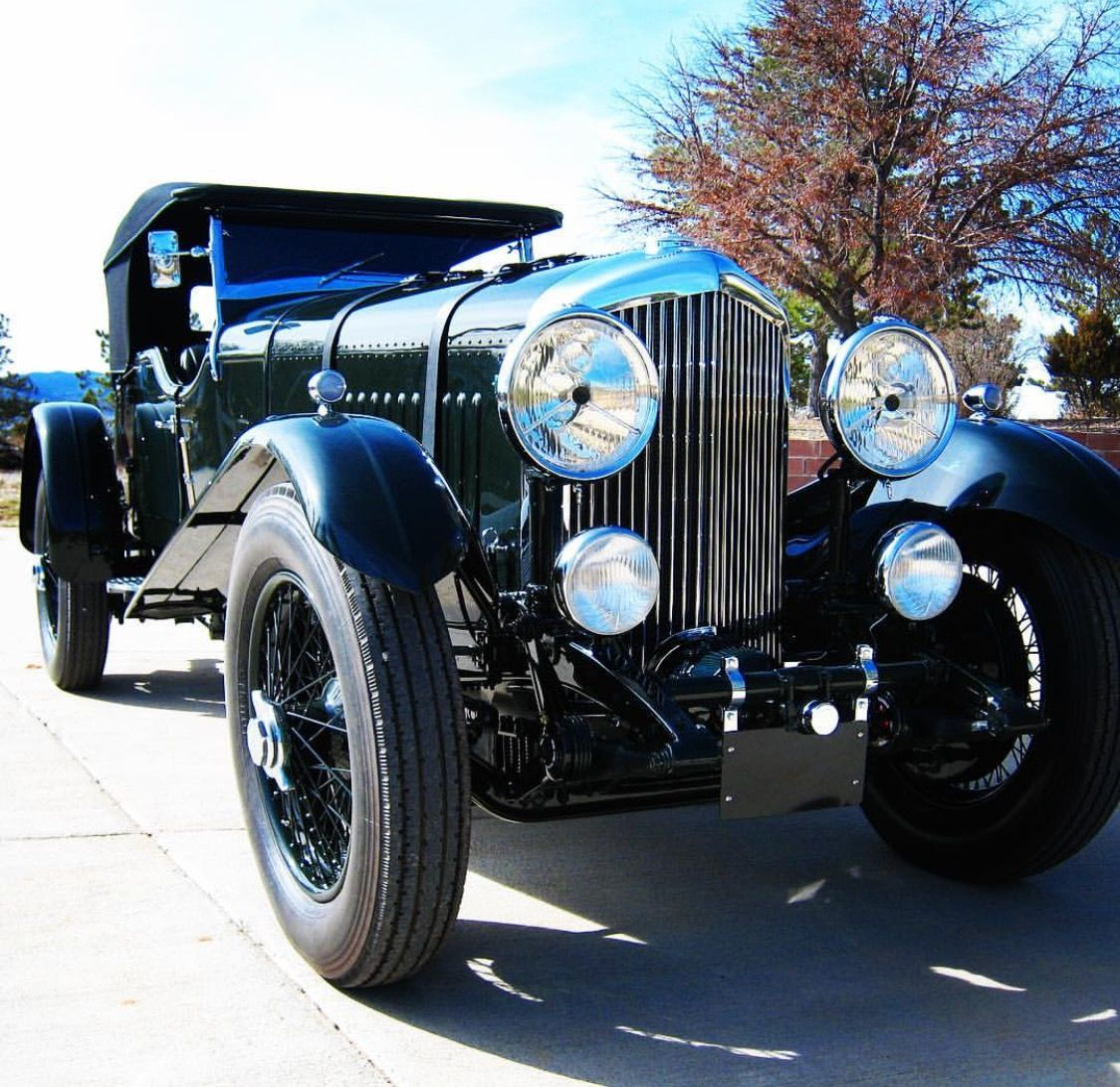 A Gorgeous 1931 Bentley We Restored At Restore Cars https://youtu.be ...