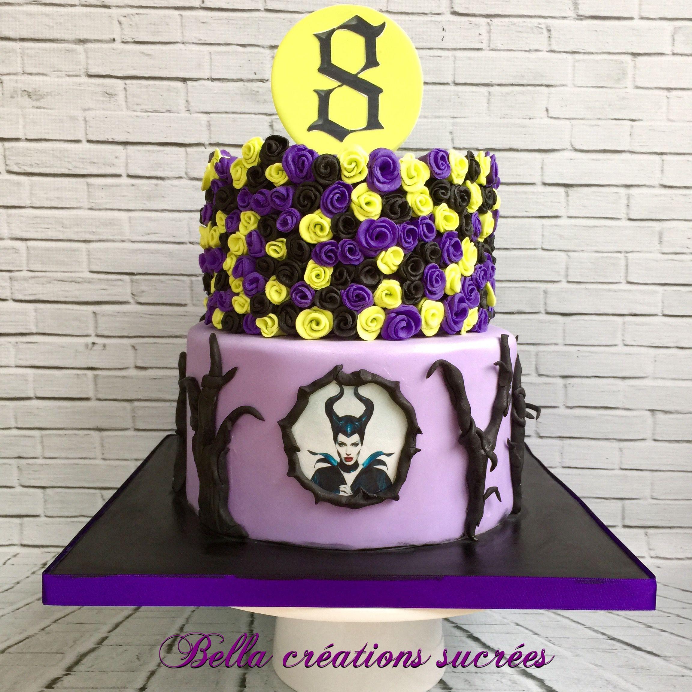 Maleficent cake Chloe s 4th Maleficent Birthday