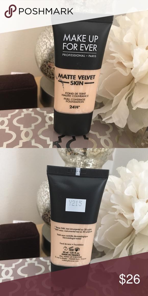 Matte shade Skin Velvet Make Up For Ever Matte Velvet