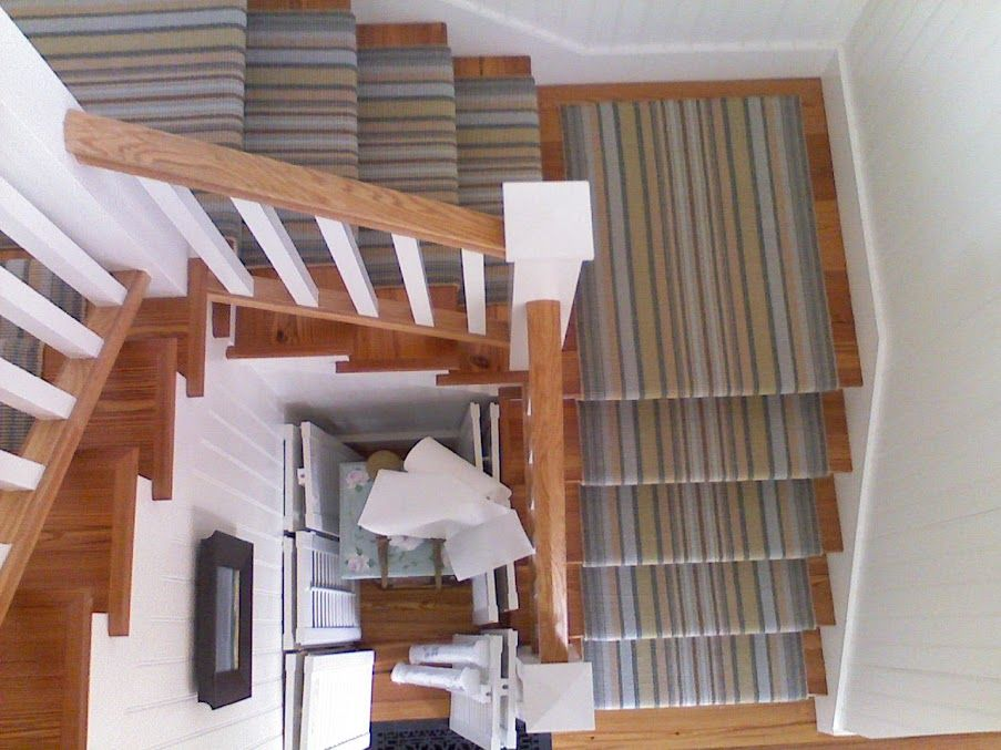 Best Stair Rugs Stripe Stair Runner Installation By Colony 400 x 300