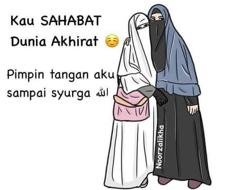 Keren 30 Gambar Hijab Syari Cadar Kartun 75 Gambar Kartun Muslimah Cantik Dan Imut Bercadar Download 43 Gambar Kartun Muslimah B Gambar Gambar Kartun Lucu