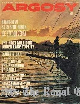 the tranquil cover of argosy for men magazine for  bermuda triangle essay the bermuda triangle and the devil s sea