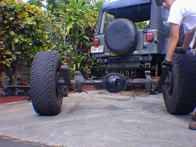 Jeep Wrangler Dana 44 Swap From Jeep Cherokee Jeep Yj Jeep