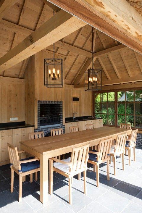 Houten Poolhouse Amp Gastenverblijven Cottage Gt Eik