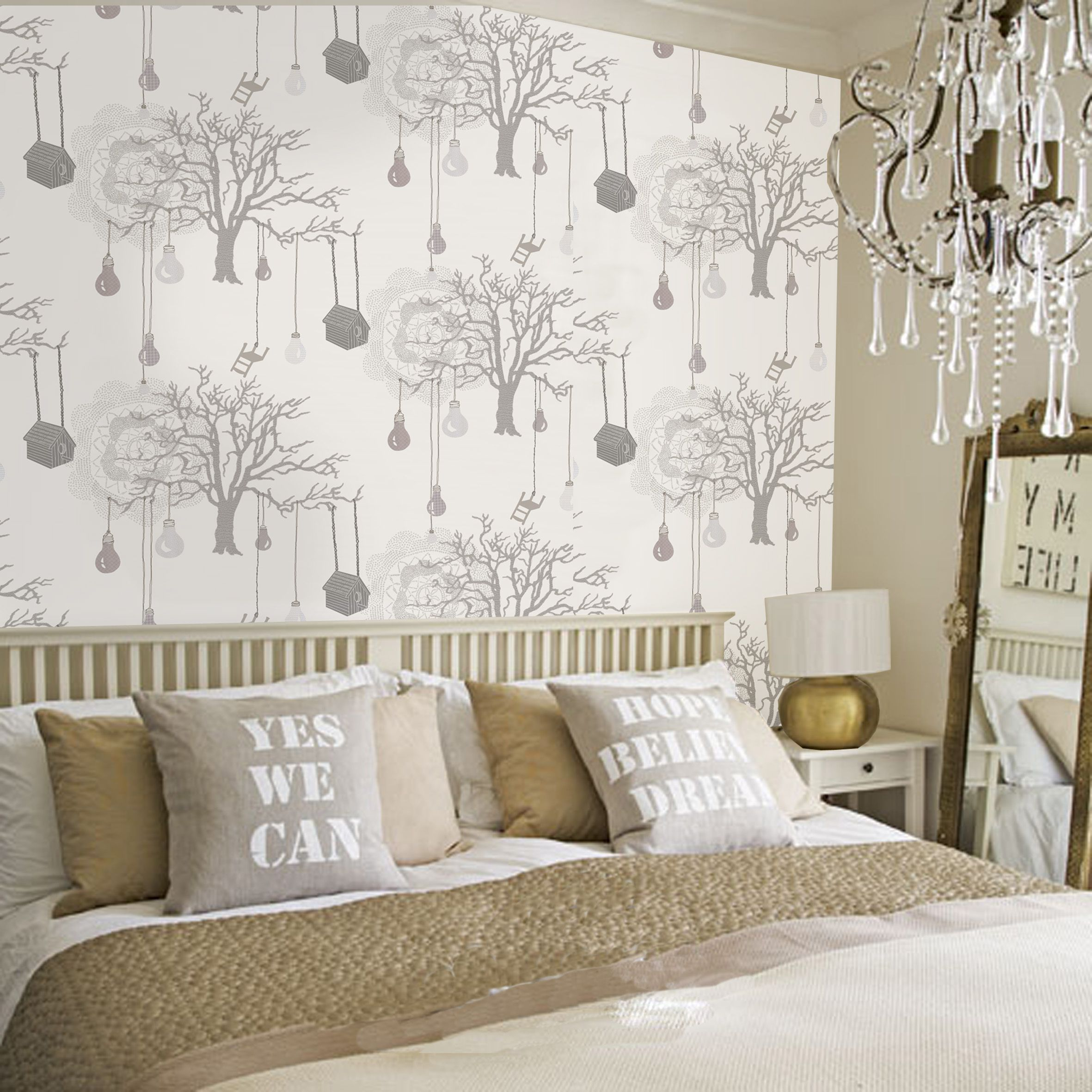 12 Best Diy Wallpaper Designs for Bedrooms UK 12  Wallpaper