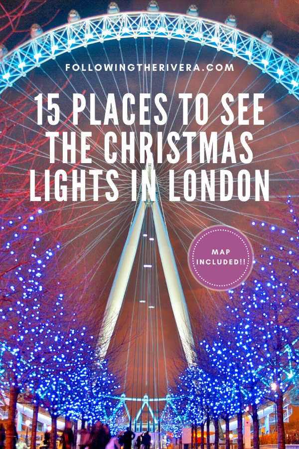 Add some #christmas sparkle to your #london #travel itinerary with these 15 places to see some of the most spectacular #christmaslights in the capital! #londontravel #londontravelguide #uktravel #christmaslightspictures #londonchristmas #londonphotography #christmastravel #traveltips #traveldestinations #travelideas #travelersnotebook #traveladvice #traveladviceandtips #traveltipsforeveryone #traveladdict #travelawesome #travelholic #europetravel #europetraveltips #travelguide