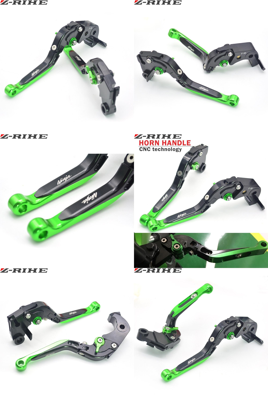 Visit To Buy For Kawasaki Motorcycle Brake Levers Adjustable