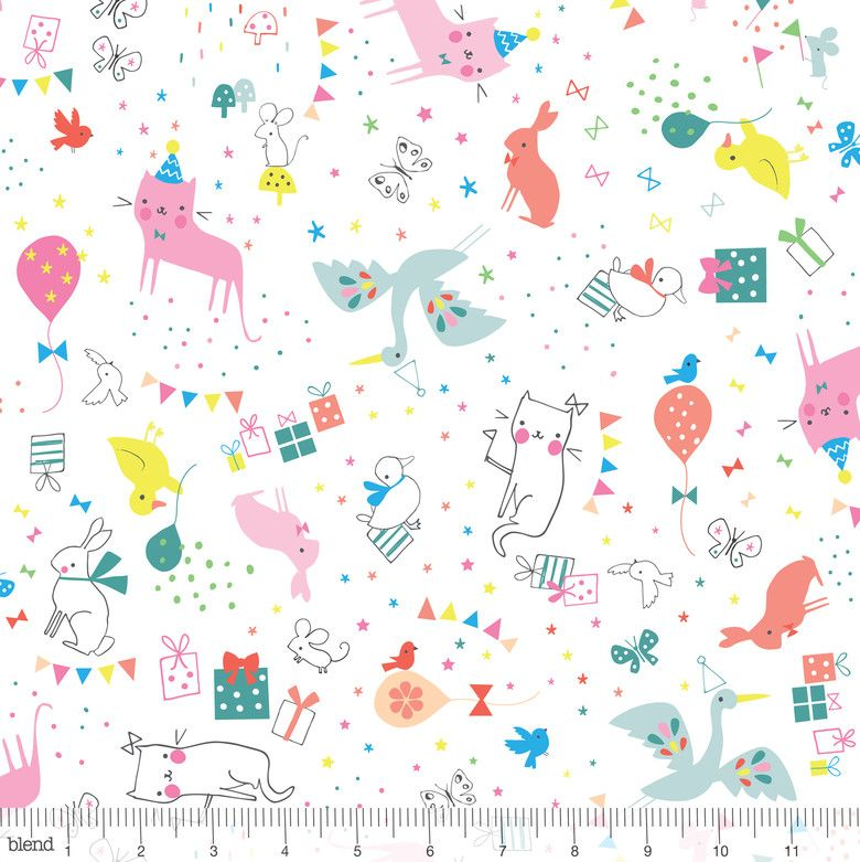 Hip Hooray by Lizzie MacKay for Blend Fabrics