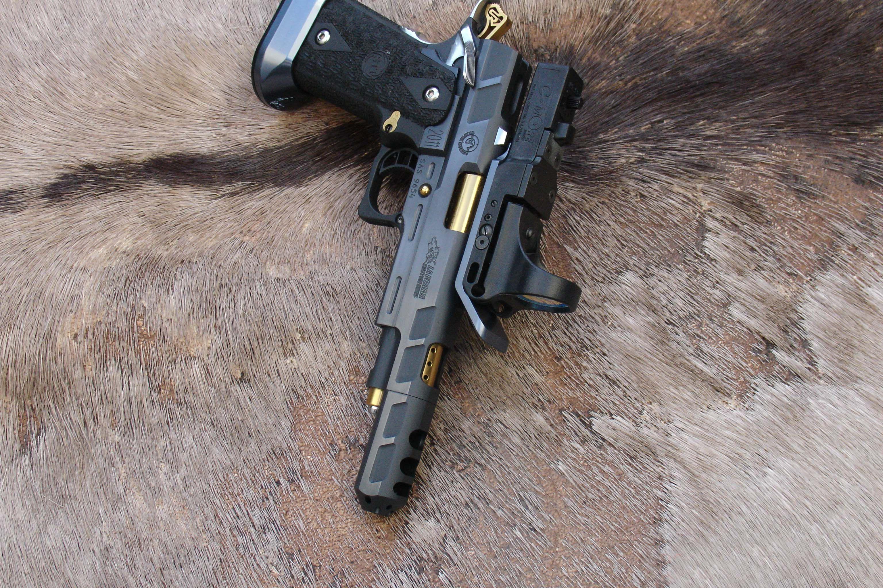 STI Open Class 38 Sup  - ALCrONA + TiN - Brama RT Guns
