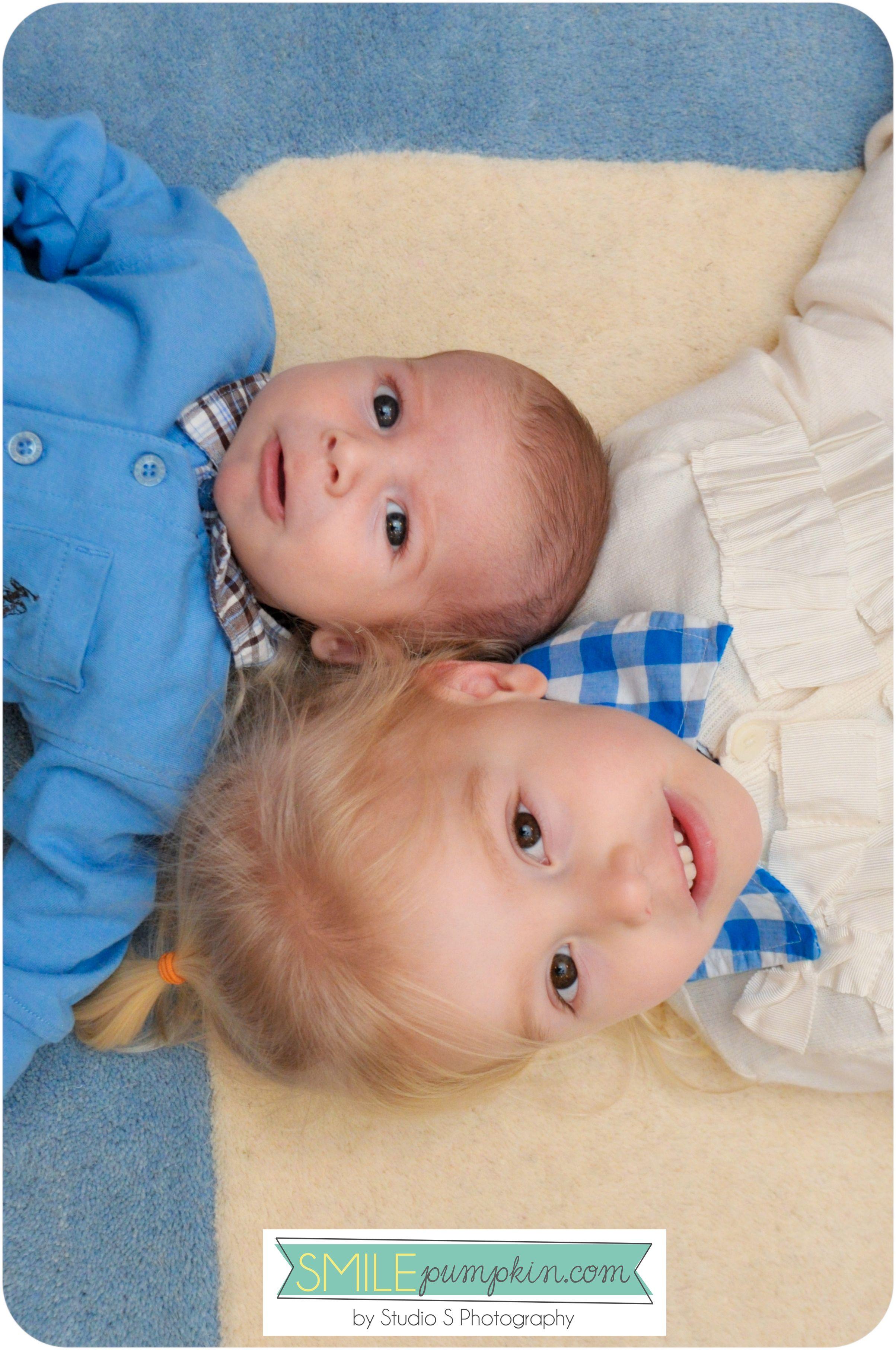 Newborn Sibling Portrait Idea Studiosblog