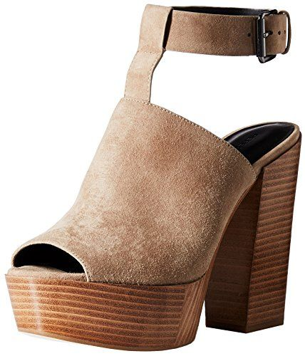 586bfb9035 Women's Isola Iliana Sandal ($120) ❤ liked on Polyvore featuring shoes,  sandals, casual, heels, block heel platform sandals, chunky…