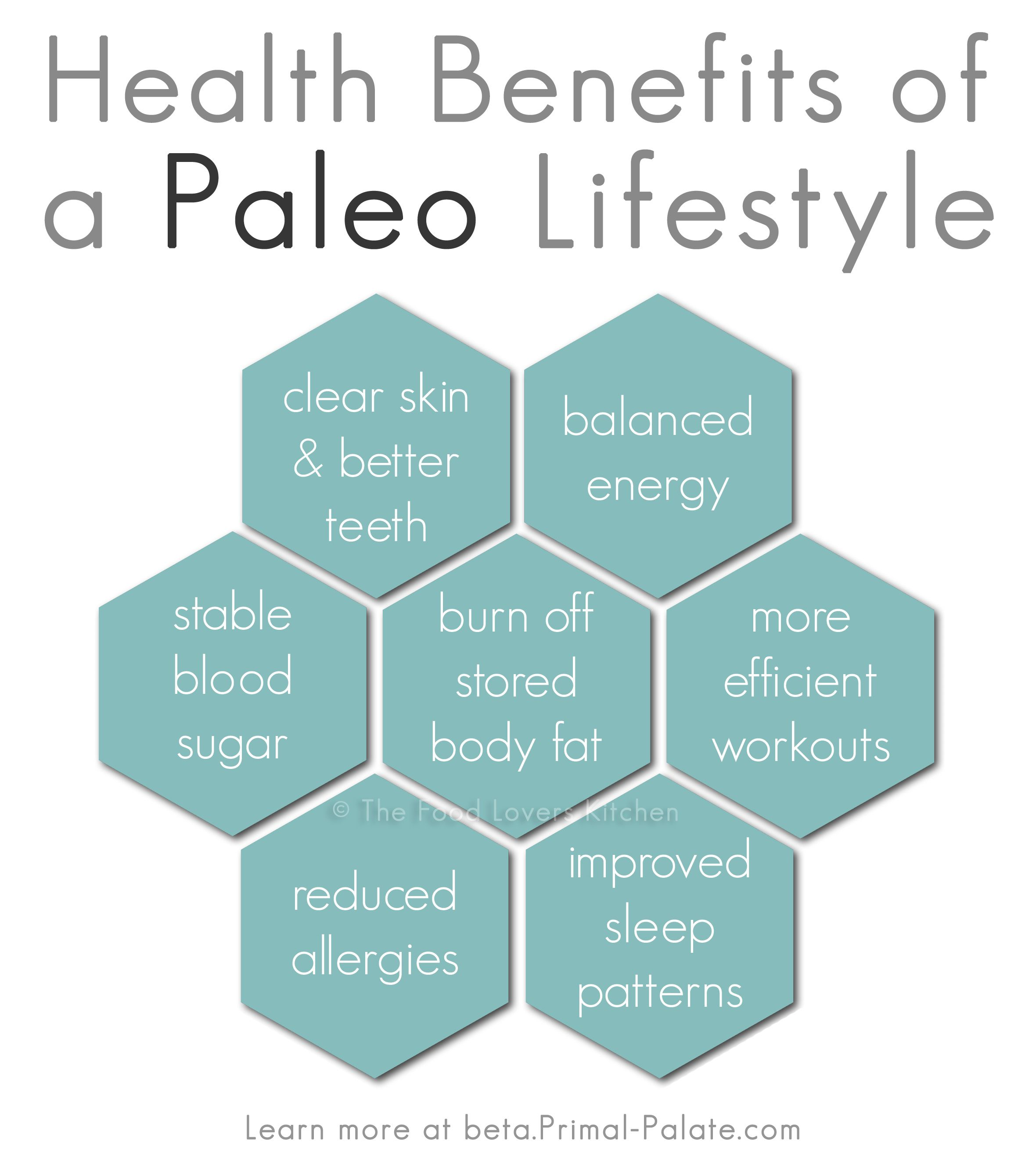 Health benefits of a Paleo lifestyle