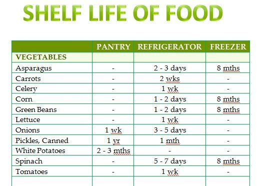 The free Shelf Life of Food template is a general ledger that - ledger template free