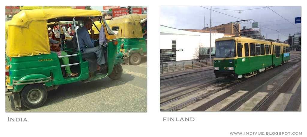 Public transports - Julkisia kulkuneuvoja