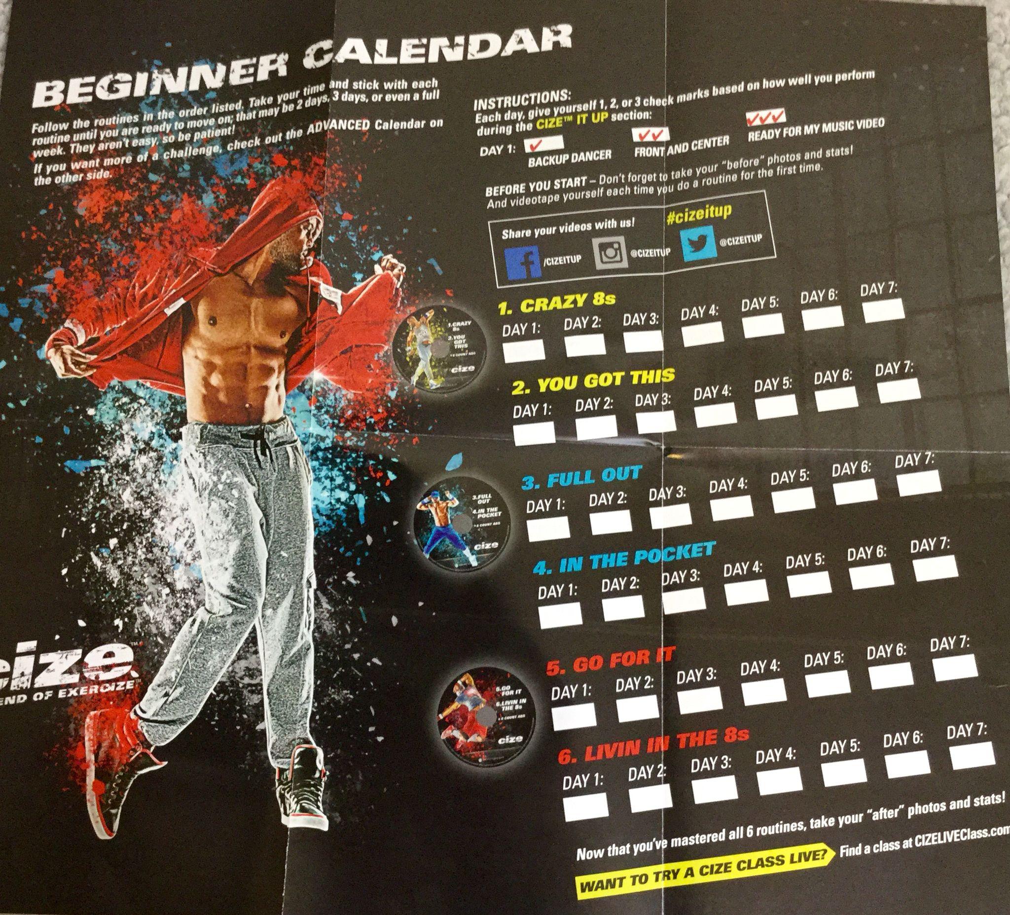 Shaun T Rockin Body Calendar Pdf