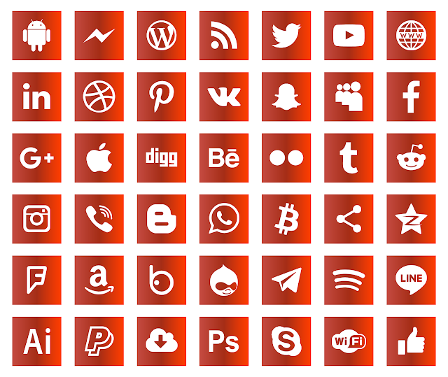 تحميل شعارات مواقع التواصل الاجتماعي فيكتور مجانا تنزيل أيقونات مواقع التواصل Download Icons Social Media Logos Svg Eps Png Psd Ai Vector Social Media Psd Icon