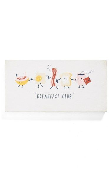 Nordstrom at Home 'Breakfast Club' Wall Art available at #Nordstrom