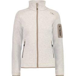 Photo of Cmp Damen Unterjacke Knitted Melange Fleece Woman Jacket, Größe 42 In Rock, Größe 42 In Rock F.lli C