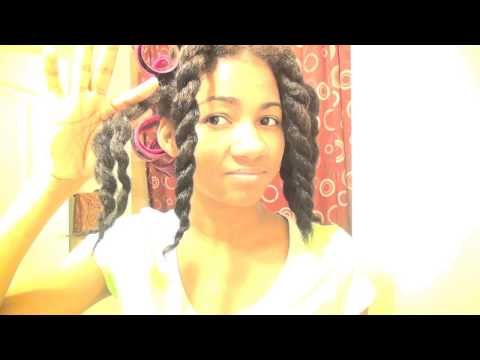 NO HEAT STRETCHING NATURAL HAIR & CHUNKY TWIST - YouTube