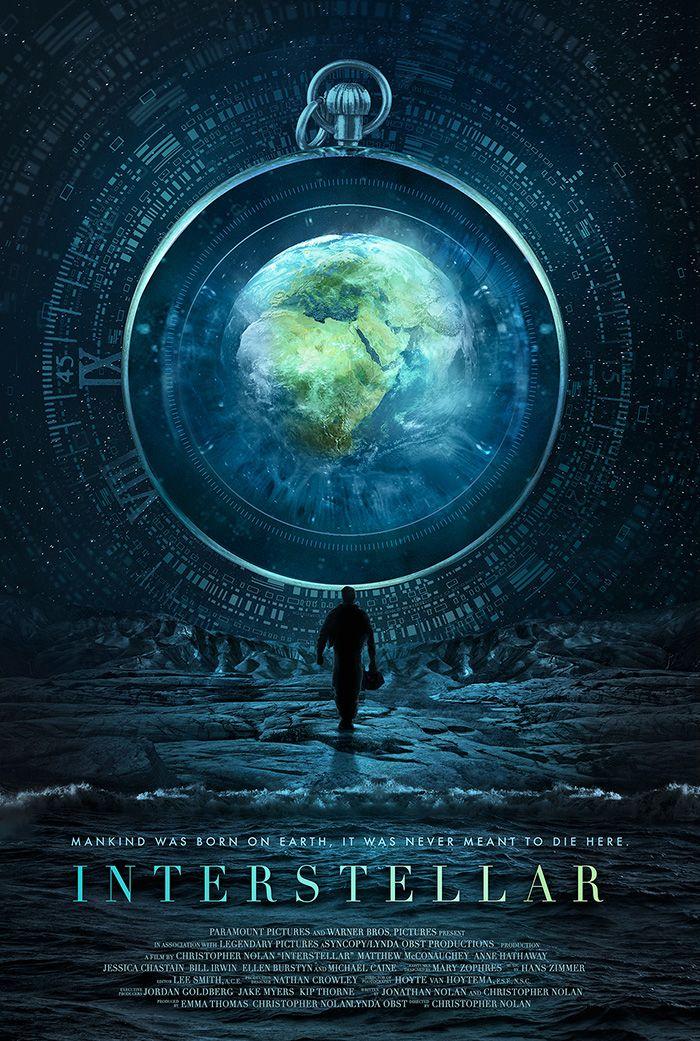 Interstellar Alternative Movie Poster By Edit Ballai Movie - Beautifully designed interstellar posters james fletcher