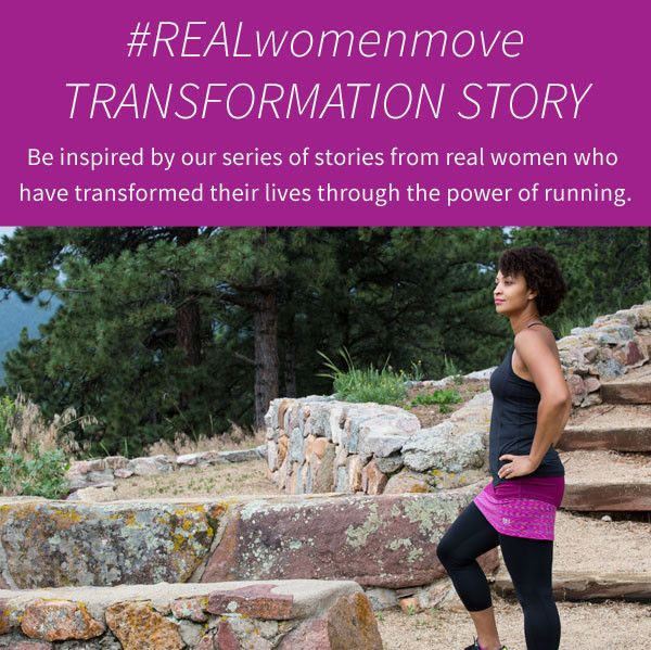 "#REALwomenmove Transformation Story @skirtsports Read about Monica: "" my journey as a runner has helped me be healthier and recapture my inner athlete."" #skirtsports #transformationstory www.skirtsports.com"