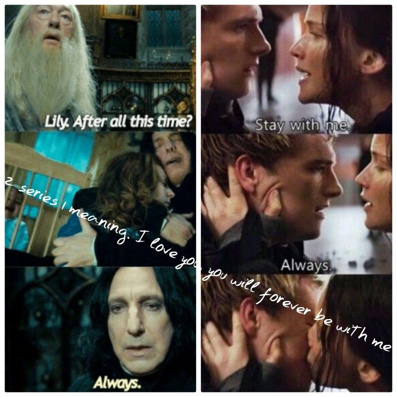 Hunger Games And Harry Potter Always Comment If You Like My Edit