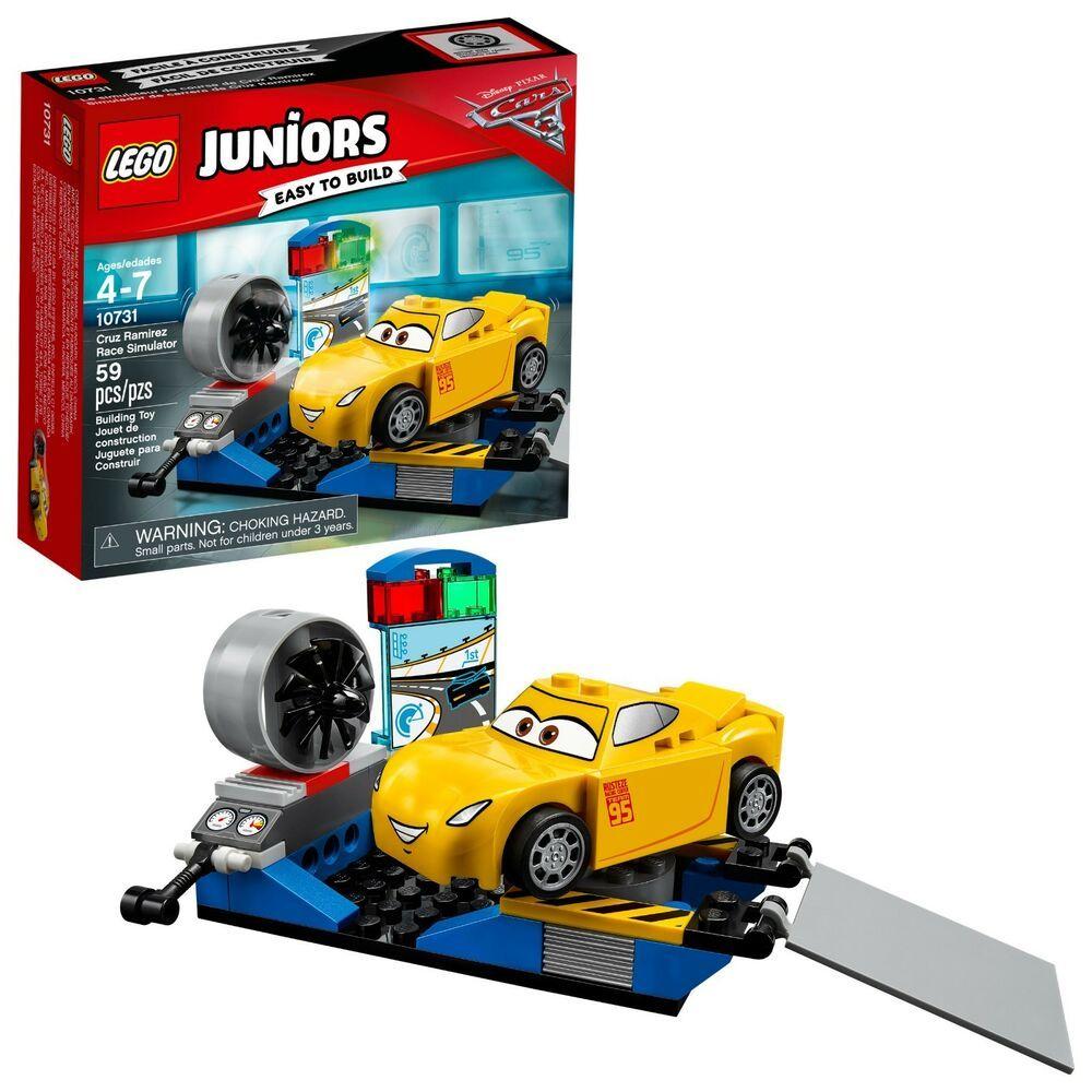 Details about LEGO JUNIORS Disney Pixar Cars 3 Cruz