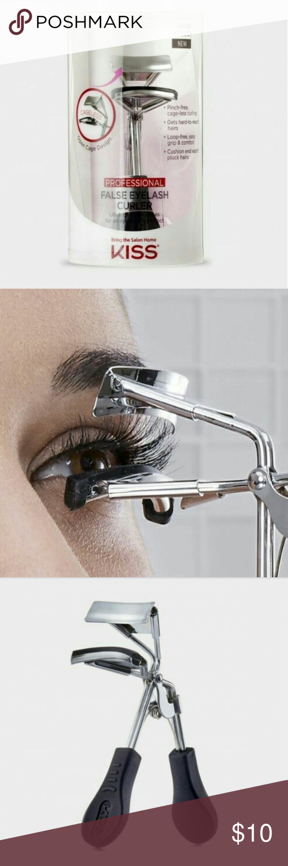 44341e776f9 False Eyelash Curler by Kiss New! Professional false eyelash curler by kiss!  Kiss Makeup