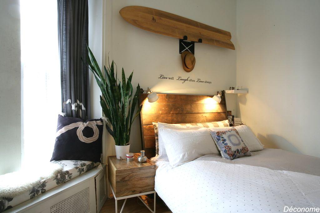 Une chambre à coucher de Stil californien