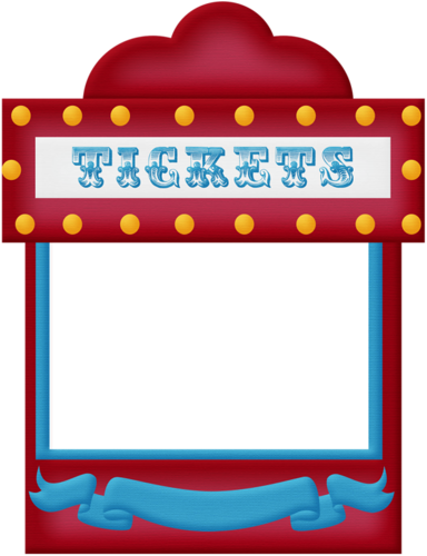aw_circus_ticket booth frame.png | ~*♦️Scrapebook~Random ...