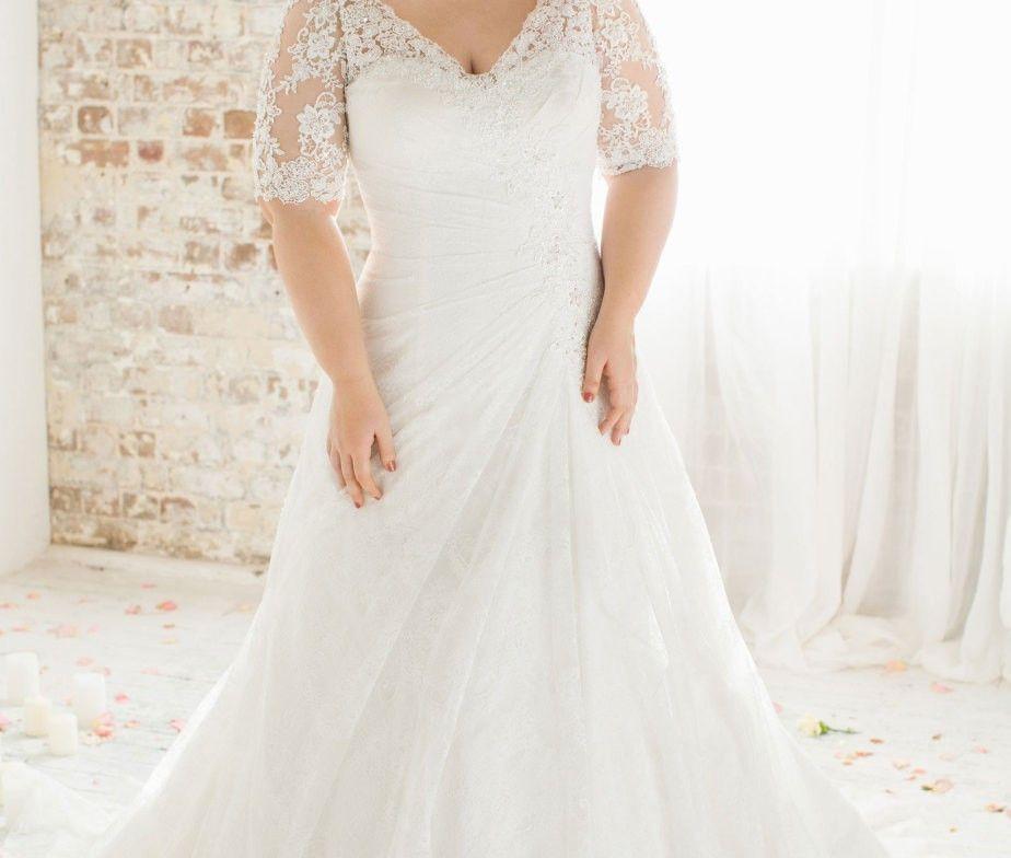Plus Size Vintage Beaded Lace Wedding Dress Plus Size Up To 28w Wedding Dresses Lace Plus Size Wedding Dresses With Sleeves Lace Weddings