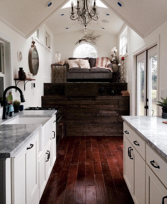 Loft bedroom with no door The