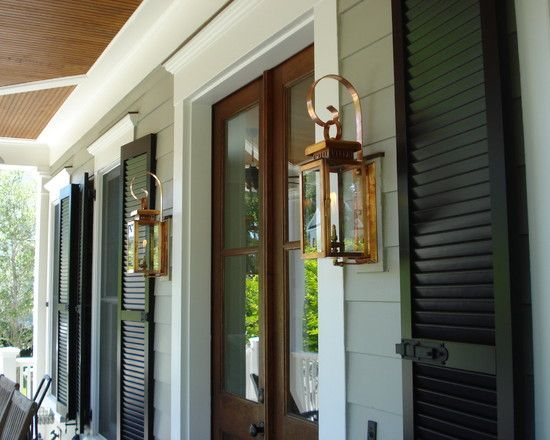 Spaces Acadian House Facade Doors With Shutters Design Pictures Remodel Decor and Ideas & Spaces Acadian House Facade Doors With Shutters Design Pictures ... pezcame.com