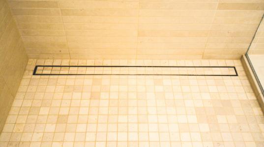 Luxe Linear Shower Drain Tile Insert Shower Drain Drain Tile